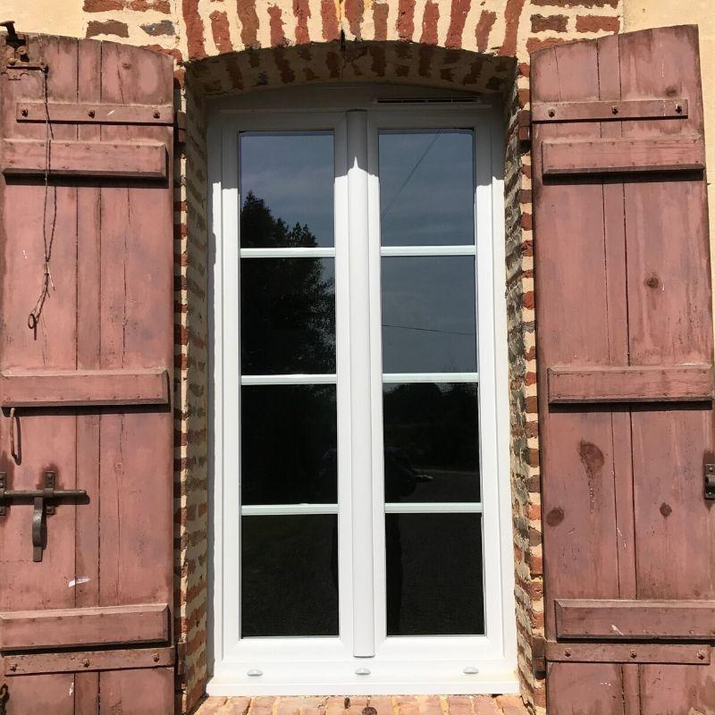 fenêtre ouverture à la française